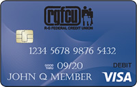RGFCU Visa Debit Card